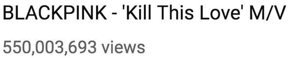 MV Kill This Love cán mốc lượt xem khủng, BlackPink trở thành nhóm nhạc KPop đạt được thành tích này nhanh nhất - Hình 1