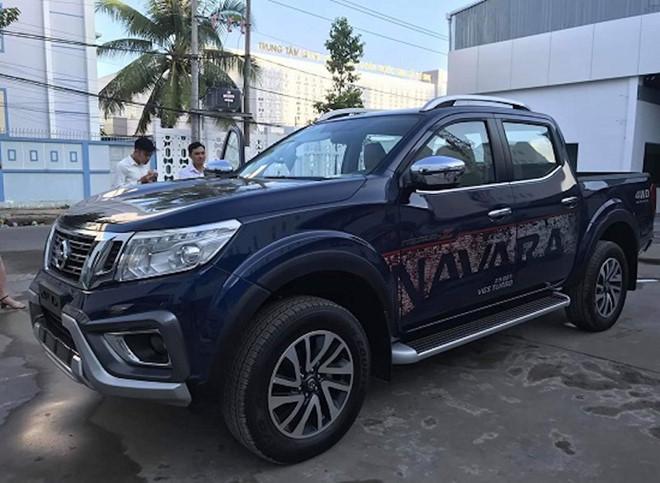 Nissan Navara phiên bản mới bất ngờ xuất hiện tại Việt Nam - Hình 1