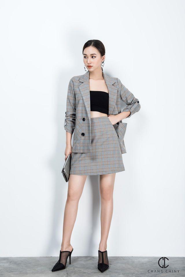 Trời vắt mình sang thu, các hãng thời trang Việt đã rục rịch bỏ bùa nàng công sở bằng những thiết kế blazer với mức giá siêu hợp lý - Hình 20