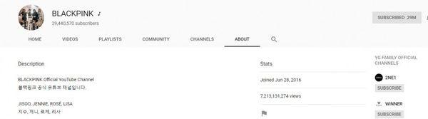 Vượt qua PSY, BlackPink trở thành nhóm nhạc sở hữu kênh YouTube Hàn Quốc có nhiều lượt xem nhất - Hình 2