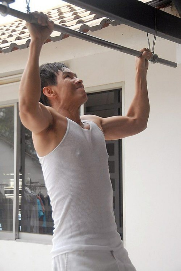 Đan Trường, Phan Đinh Tùng khoe hình thể cường tráng như trai trẻ dù đã ngoài 40 - Hình 6