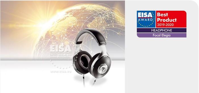 Focal Elegia được trao giải thưởng EISA Headphone 2019-2020 - Hình 1