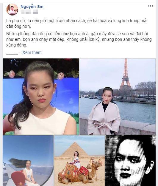 Nguyễn Sin nhận xét về cô gái 'đào mỏ' trong BMHH: 'Nhìn em như ma cương thi, nói chuyện thì vô duyên' - Hình 1