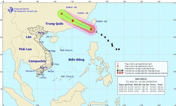 Các tỉnh, thành từ Quảng Ninh-Bình Định chủ động ứng phó với bão Bailu - Hình 1