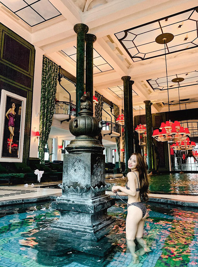 Sau khi khoe vòng eo 55cm, Quỳnh Nga tiếp tục đăng ảnh bikini quyến rũ - Hình 2
