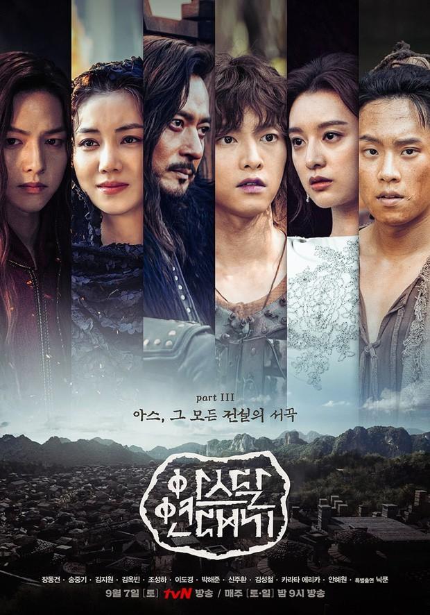 Arthdal Niên Sử Kí phần cuối nhá hàng dữ dội: Song Joong Ki và Kim Ji Won phân thân tung hoành! - Hình 10