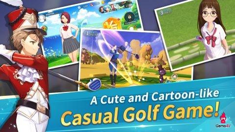 Birdie Crush - Trải nghiệm đánh golf trong thế giới anime đầy sắc màu - Hình 1