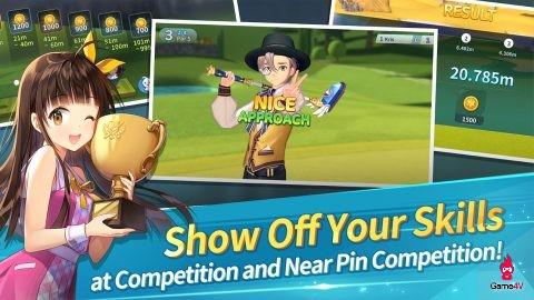 Birdie Crush - Trải nghiệm đánh golf trong thế giới anime đầy sắc màu - Hình 9