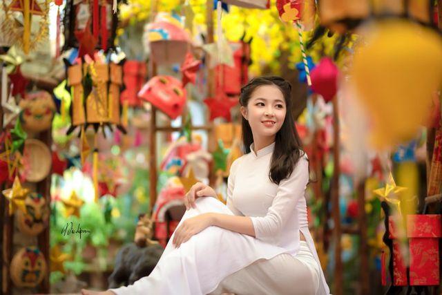 Bộ ảnh mở màn mùa Trung thu của thiếu nữ Hà Nội - Hình 5