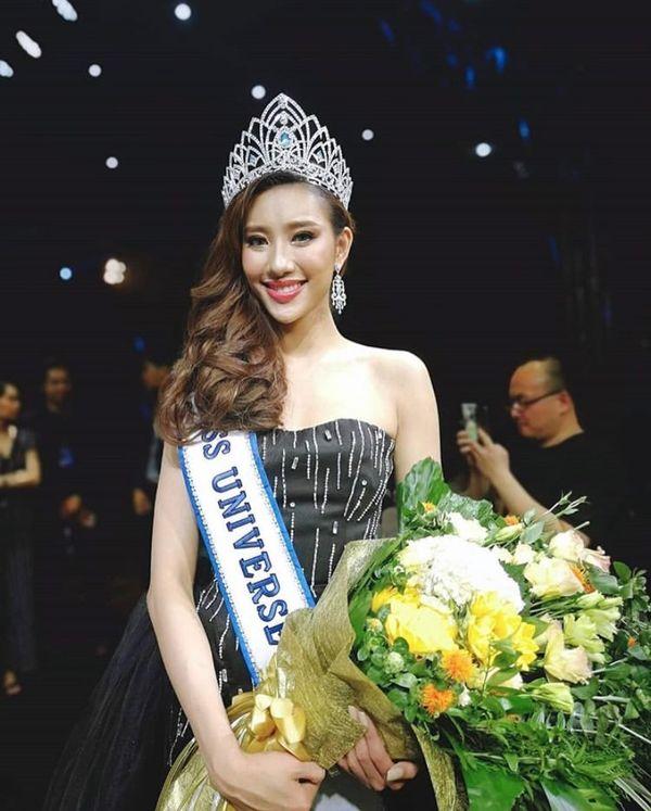 Lộ diện Hoa hậu Hoàn vũ Lào 2019: Xinh rụng rời lại cao 1m76, thần thái chẳng thua kém Hoàng Thùy - Hình 1