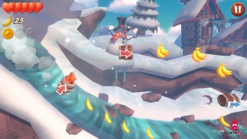 Đổi gió với game khỉ ăn chuối vui nhộn Banana Kong Blast - Hình 2
