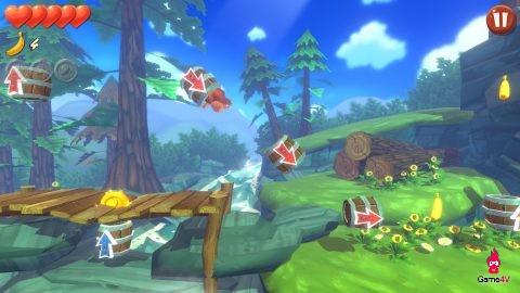 Đổi gió với game khỉ ăn chuối vui nhộn Banana Kong Blast - Hình 3