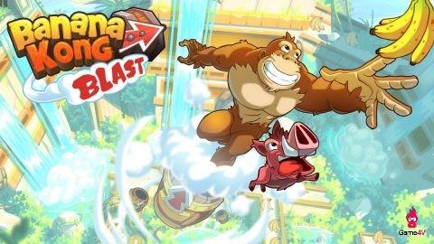 Đổi gió với game khỉ ăn chuối vui nhộn Banana Kong Blast - Hình 1