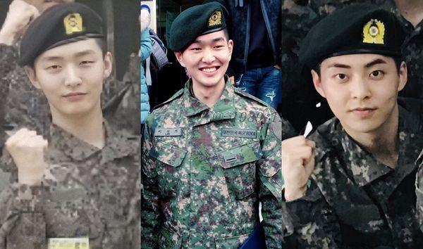 Fan mừng rỡ: Xiumin (EXO), Onew (SHINee) và Jisung (Wanna One) sẽ trở thành ngôi sao trong vở nhạc kịch quân đội mới - Hình 2