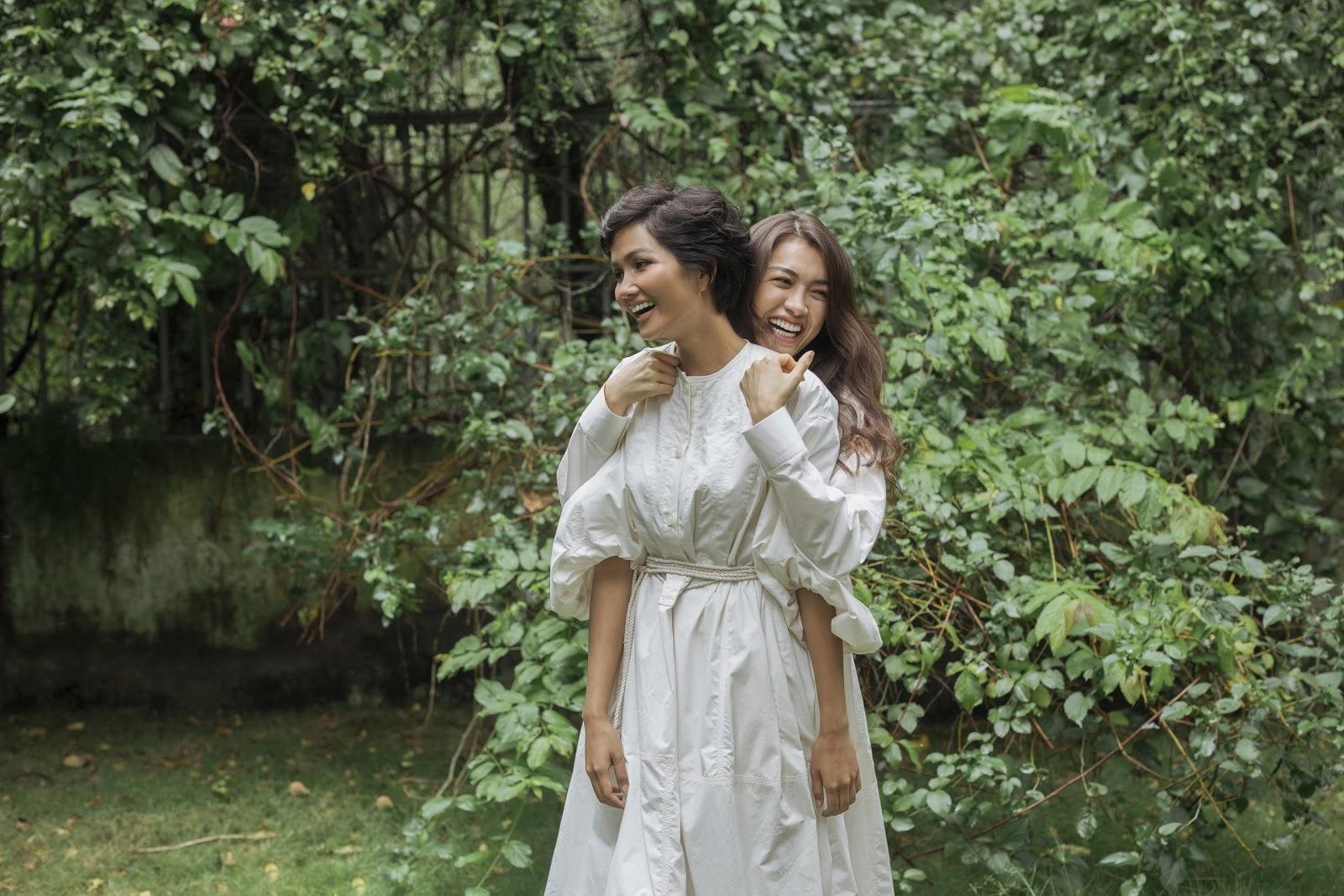 H'Hen Niê và Lệ Hằng tung ảnh mặt mộc, mặc áo gợi cảm ăn mừng về nhất Tập 8 Cuộc Đua Kỳ Thú 2019 - Hình 11