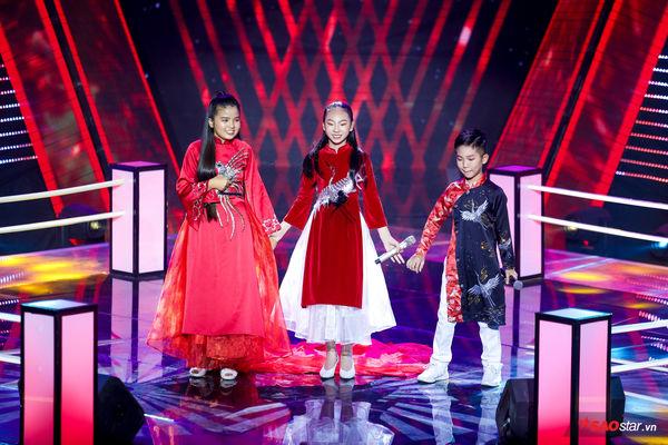 Liên khúc 3 miền - Đặc sản chỉ có tại The Voice Kids: Nổi bật nhất là Phương Mỹ Chi, Thiện Nhân và Hiểu Minh - Hình 10