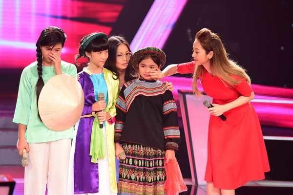 Liên khúc 3 miền - Đặc sản chỉ có tại The Voice Kids: Nổi bật nhất là Phương Mỹ Chi, Thiện Nhân và Hiểu Minh - Hình 5