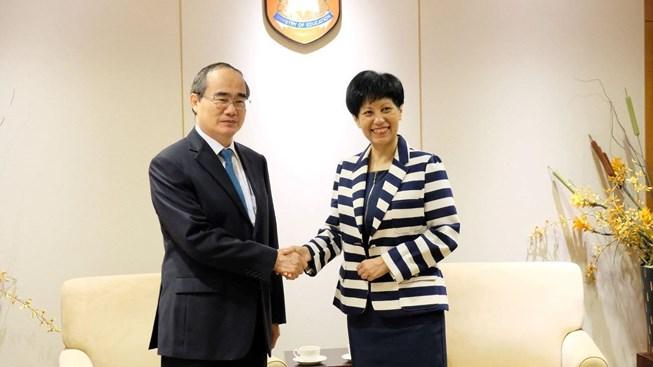 TP.HCM tăng cường hợp tác về giáo dục với Singapore - Hình 1