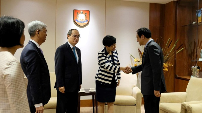 TP.HCM tăng cường hợp tác về giáo dục với Singapore - Hình 4