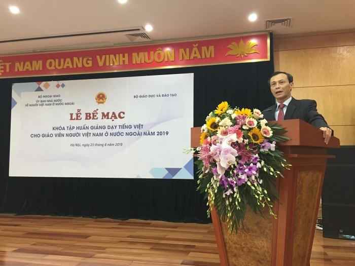Tập huấn dạy tiếng Việt cho giáo viên kiều bào: đổi mới về giáo trình, nội dung - Hình 1