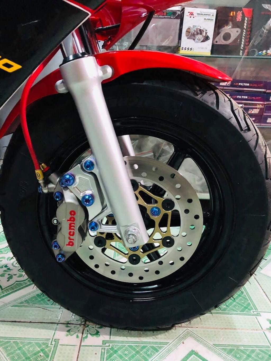 Vốn đã là hàng hiếm, chiếc Honda tí hon này còn được biker Việt độ độc hơn nữa - Hình 3
