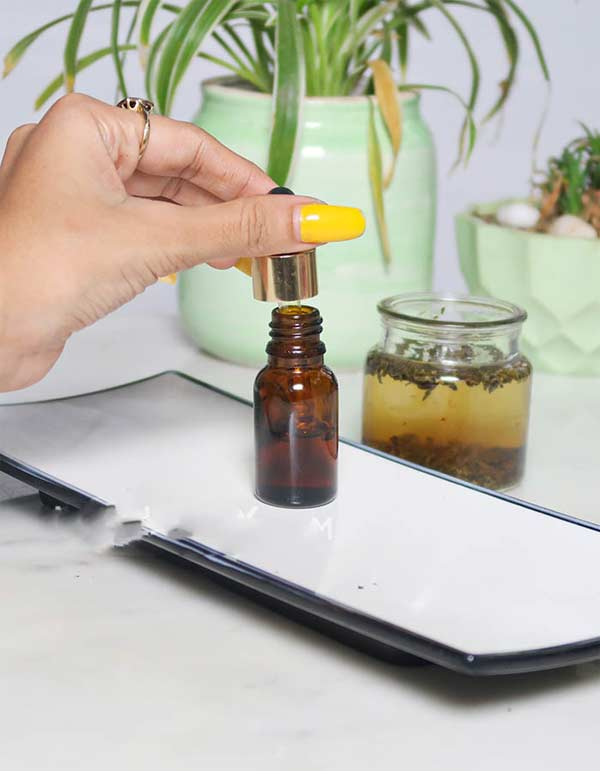 Đừng tốn vài trăm nghìn mua dầu dưỡng da, tự làm tại nhà từ dầu dừa và trà mạn - Hình 1