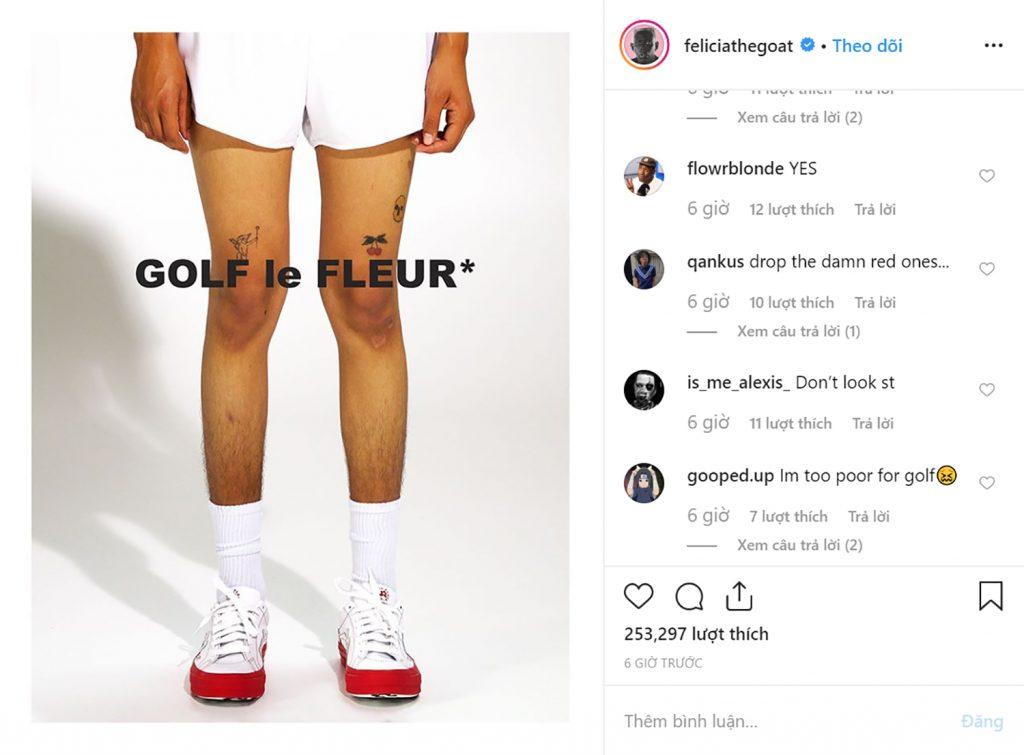Giày Converse x GOLF le FLEUR* Color Block lọt danh sách sneakers đáng mong đợi nhất - Hình 2