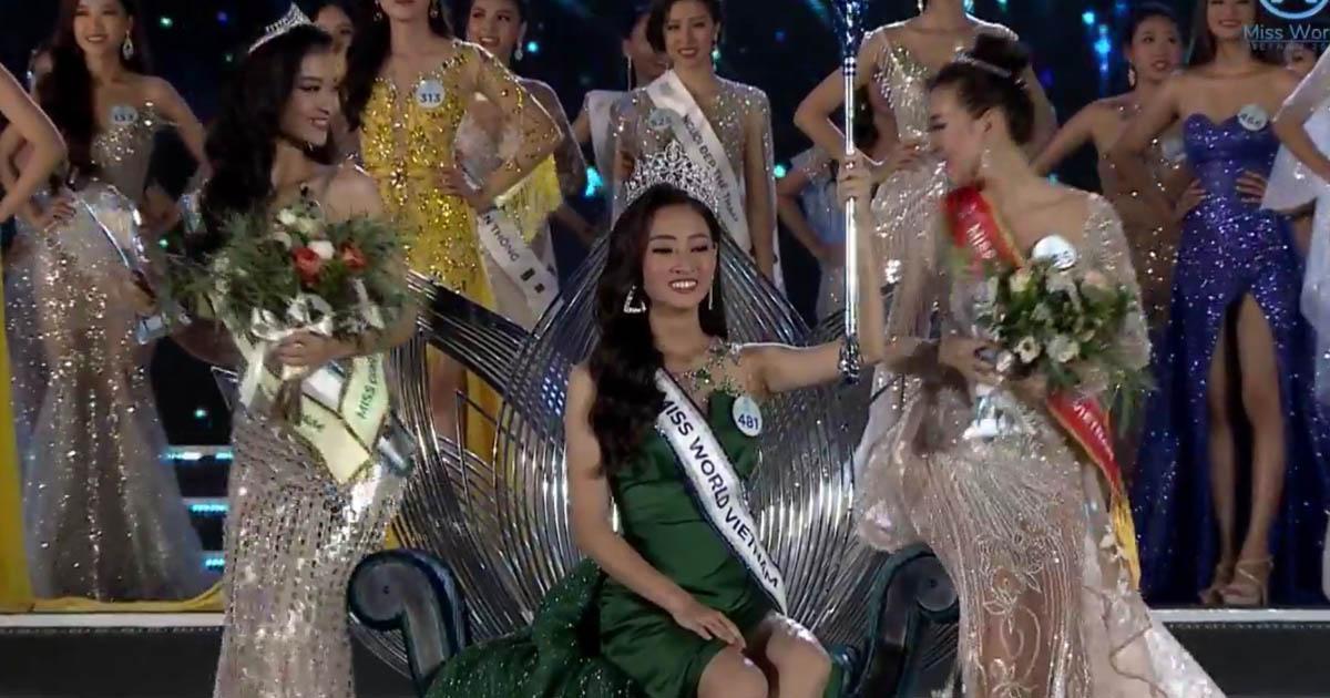 Hot: Người đẹp Cao Bằng - Lương Thuỳ Linh chính thức trở thành Hoa hậu Thế giới Việt Nam 2019 - Hình 1