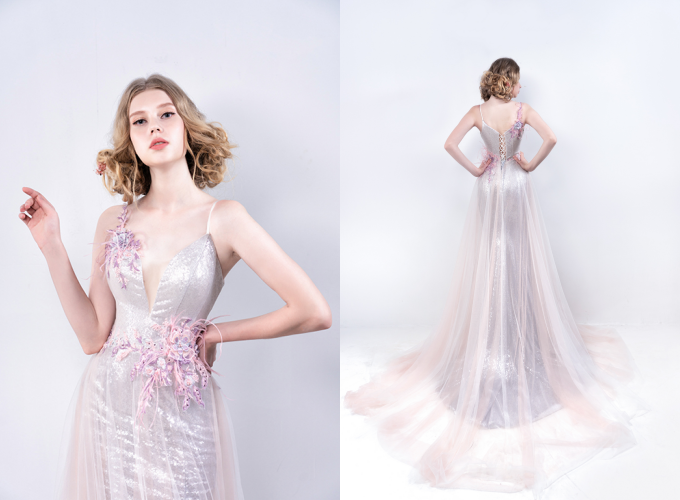 10 váy cưới được yêu thích tháng 8 - Hình 1