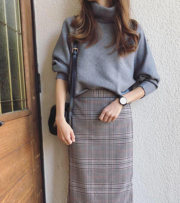 Chân váy dài điệu đà đón mùa thu ngọt ngào về - Hình 4