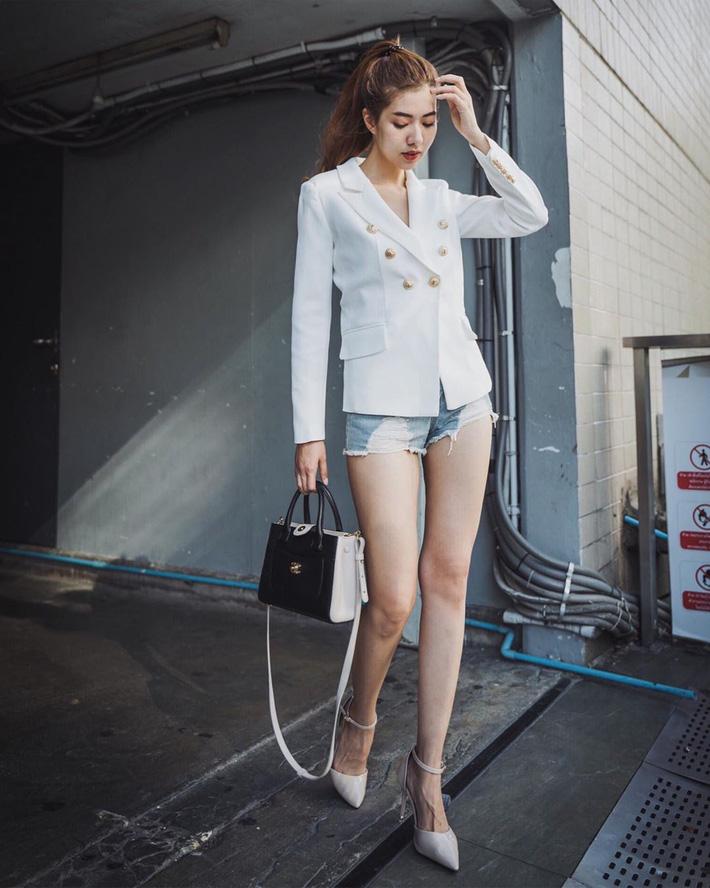 Quần short blazer: Có cả loạt cách mix đồ giúp chân dài phải biết cho style của các nàng tuổi băm - Hình 2