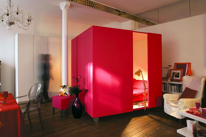 10 căn hộ nhỏ có ý tưởng thiết kế hiện đại lại siêu thông minh ai nhìn cũng thích - Hình 6