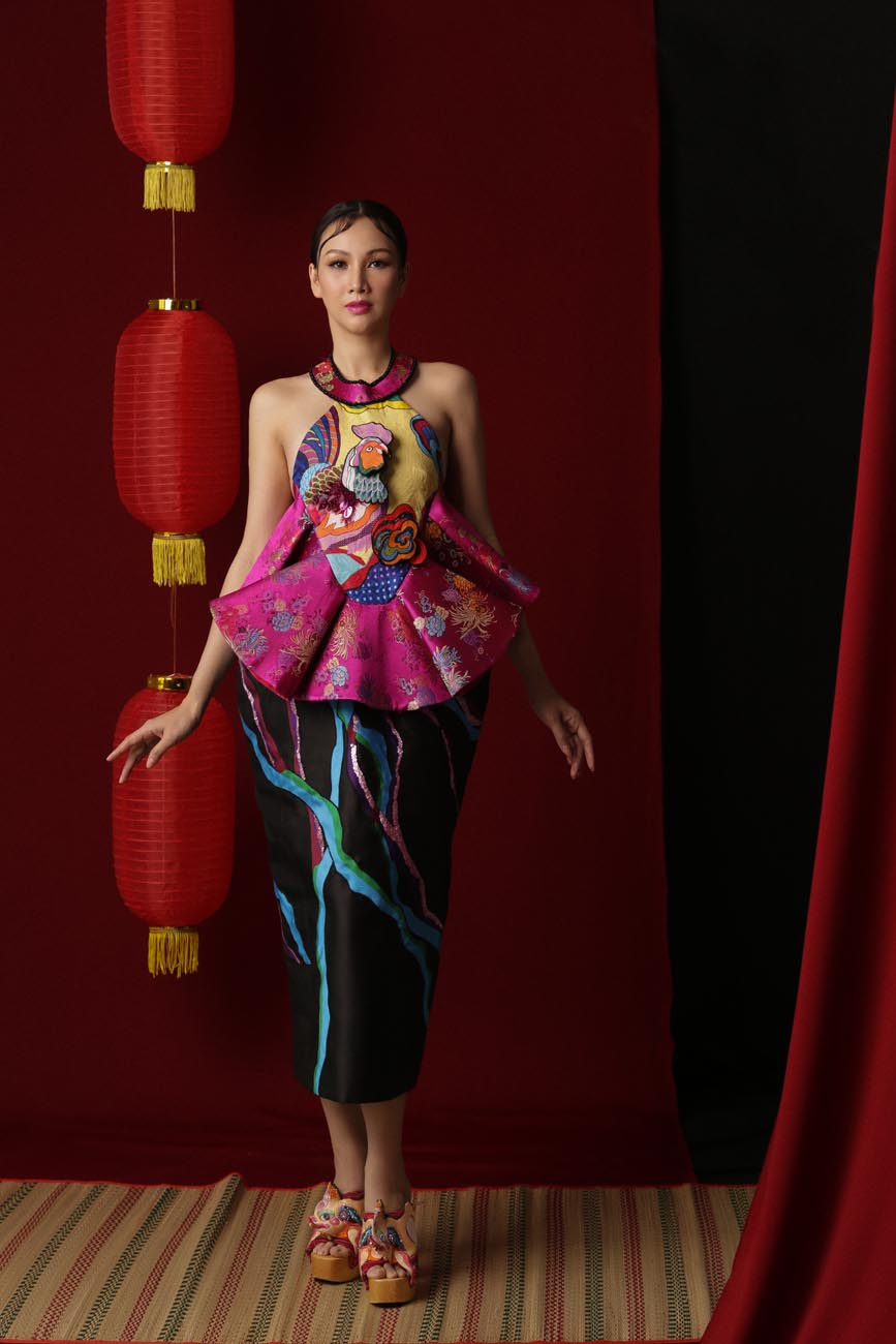 Cận kề U40, Hoa hậu Paris Vũ khiến fans ngỡ ngàng về nhan sắc kiều diễm khi diện trang phục truyền thống - Hình 3