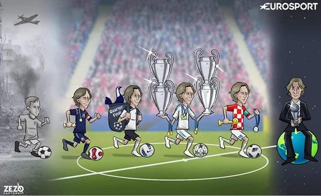 Dân mạng mang quả bóng vàng ra chế giễu Luka Modric trong ngày sinh nhật - Hình 2
