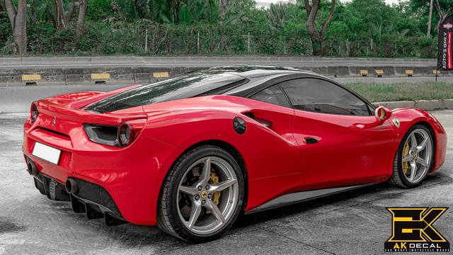 Ferrari 488 GTB từng của Cường Đô-la xuất hiện với diện mạo dễ gây hiểu nhầm - Hình 4