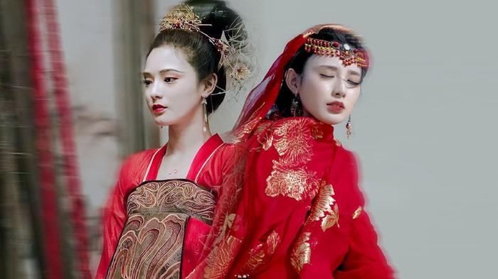 Gà cưng của Phạm Băng Băng - Bành Tiểu Nhiễm xinh đẹp trong tạo hình Dương Quý Phi - Hình 1