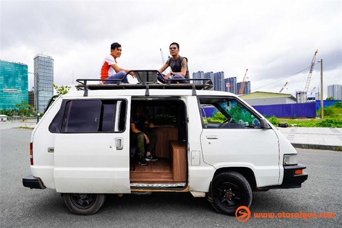 Hô biến Toyota Van LE thành nhà di động đi khắp Việt Nam - Hình 8