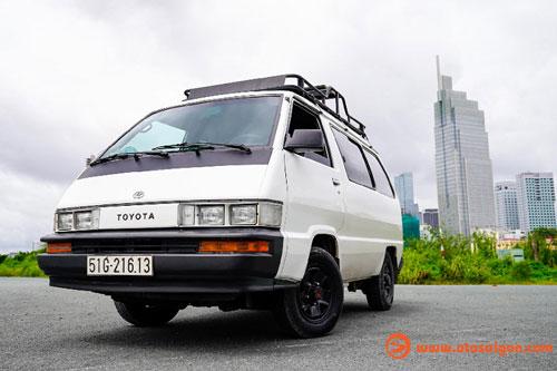 Hô biến Toyota Van LE thành nhà di động đi khắp Việt Nam - Hình 1