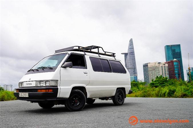 Hô biến Toyota Van LE thành nhà di động đi khắp Việt Nam - Hình 2