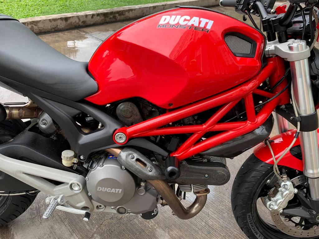 Sau 6 năm, Ducati Monster 795 có giá bán chỉ hơn 130 triệu đồng - Hình 3