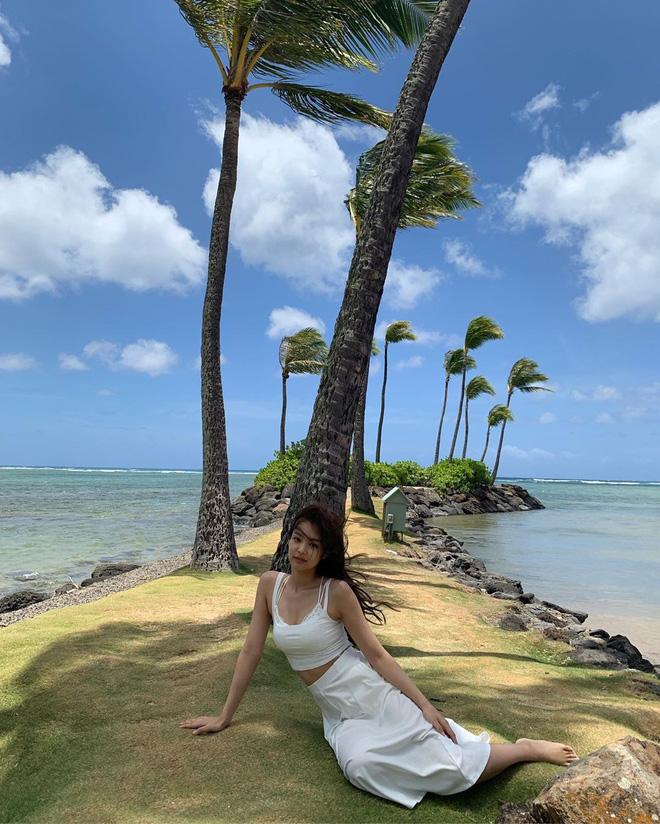 Sống ảo đỉnh như BLACKPINK tại Hawaii: Jennie và Lisa khoe hình thể siêu nuột, Rosé đỉnh nhất mặc kệ ảnh ngược sáng - Hình 15