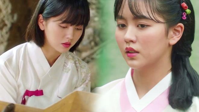 Tiểu Sử Chàng Nok Du tung teaser minh oan cho Kim So Hyun: Hoá ra tạo hình trên hiện đại - dưới truyền thống là có lí do? - Hình 1