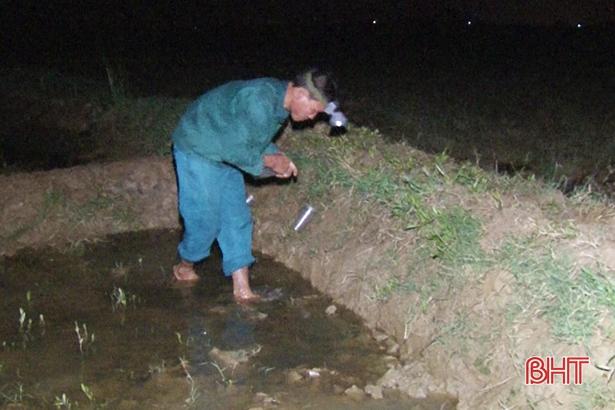 2 giờ sáng đi bẫy loài nhát chết ven sông La, kiếm gần nửa triệu - Hình 3