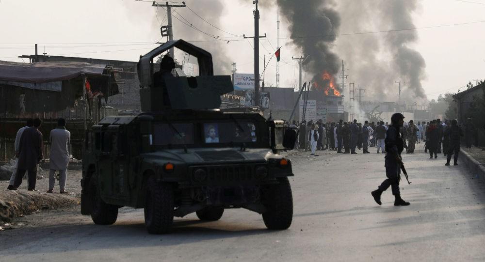 Ảnh Đại sứ quán Mỹ tại Afghanistan rúng động vì bom đúng ngày lịch sử 11/9 - Hình 1
