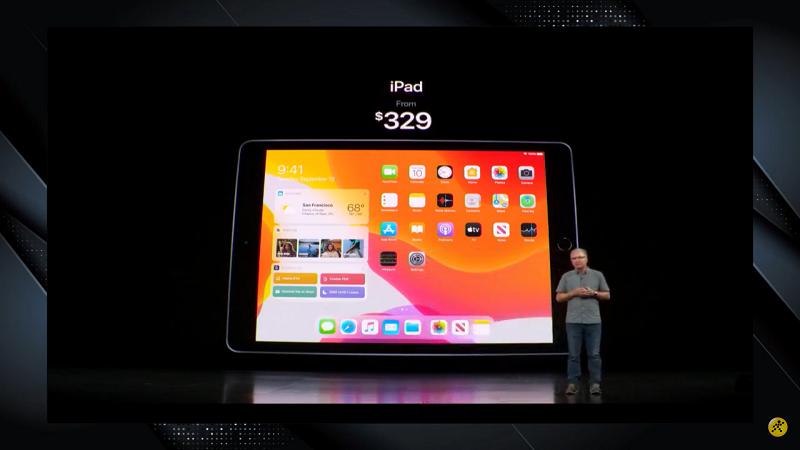 Apple ra mắt iPad 10,2 inch mới (thế hệ 7), giá 329 USD - Hình 2
