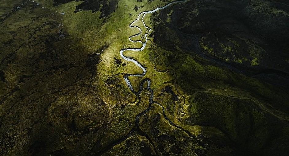 Bắc Âu như vùng đất ngoài hành tinh với khung cảnh nhìn từ trên cao - Hình 20