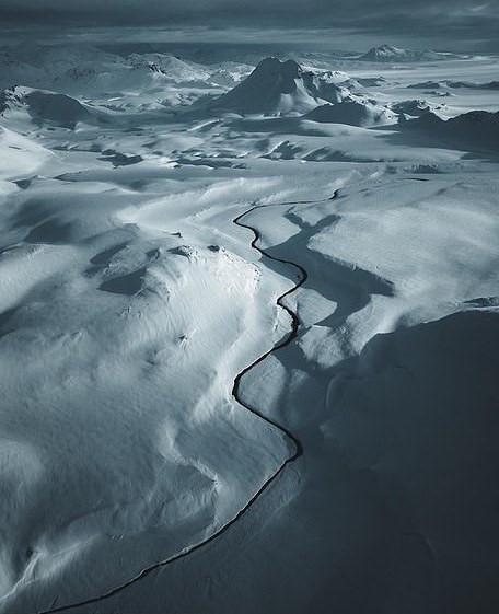 Bắc Âu như vùng đất ngoài hành tinh với khung cảnh nhìn từ trên cao - Hình 5
