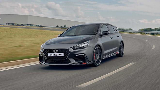Rò rỉ hình ảnh của Hyundai i30 N Project C trước thềm triển lãm Frankfurt Motor Show 2019 - Hình 1