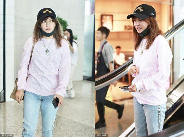 Có lẽ Triệu Vy nên học Phú sát Tần Lam cách diện đồ thời trang sân bay sao cho trẻ trung hơn - Hình 10