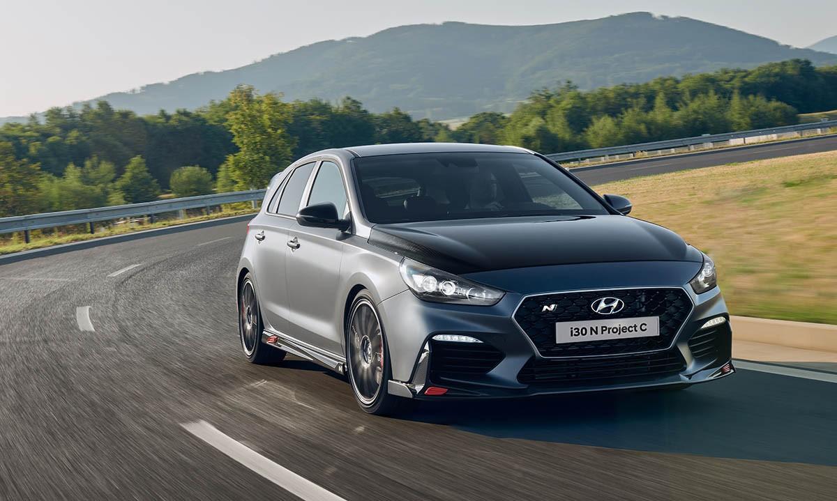 Diện kiến hothatch Hyundai i30N Project C muốn so găng Honda Civic Type R - Hình 16